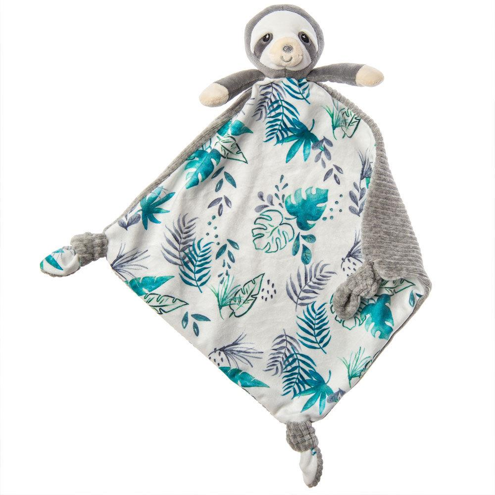 MARY MEYER LITTLE KNOTTIE BLANKET - SLOTH