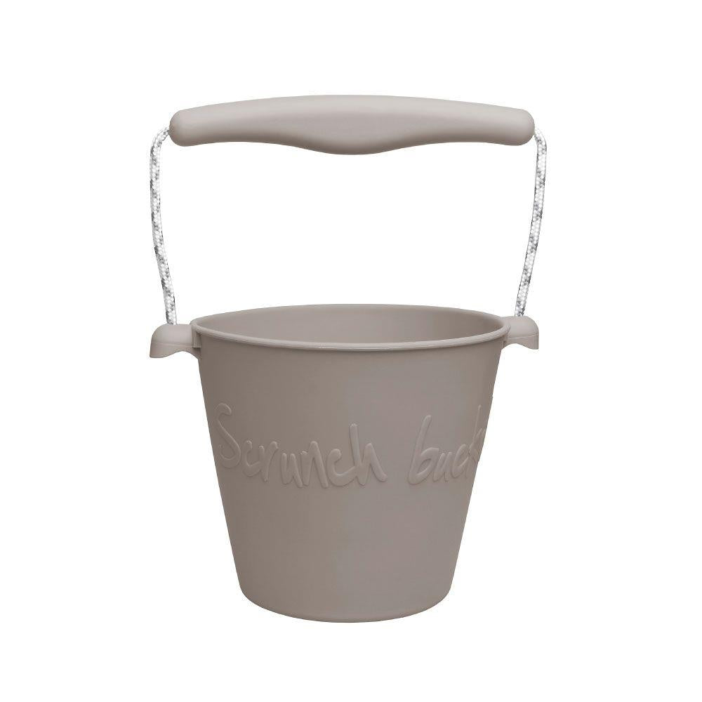 Scrunch Bucket & Spade - Warm Grey