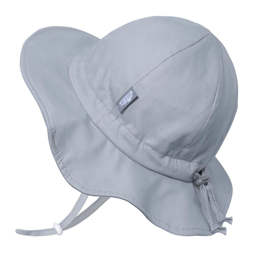 Jan & Jul - Cotton Floppy Hat - Grey