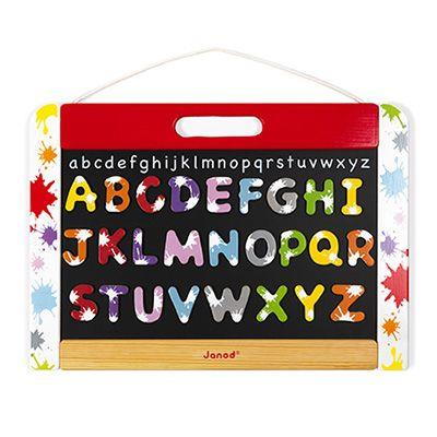 Janod Splash Board With Letters (Ages 3-8)