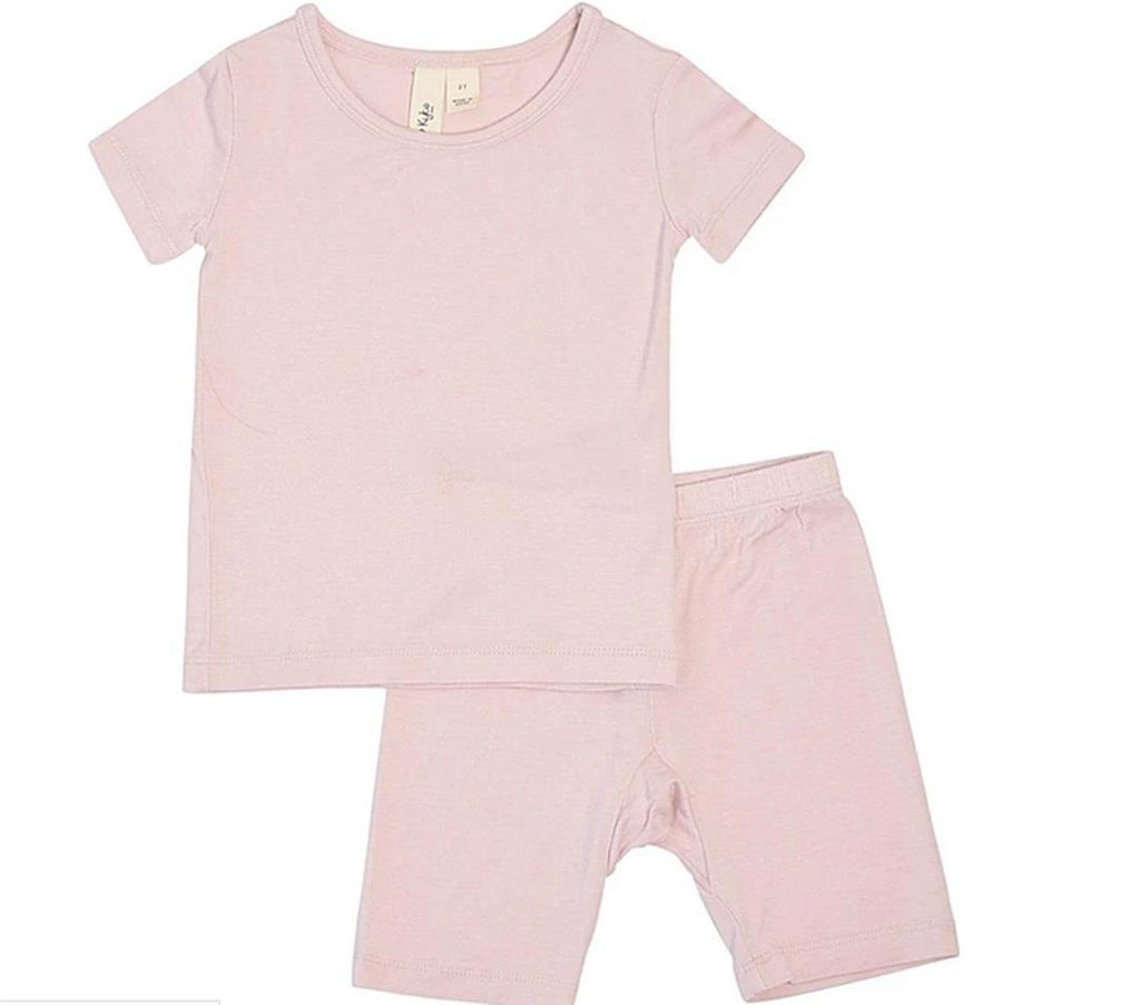Kyte Toddler Short Sleeved Pajama Set - Blush
