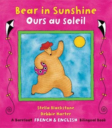 BAREFOOT BOOKS BILINGUAL BOOK - OURS AU SOLEIL