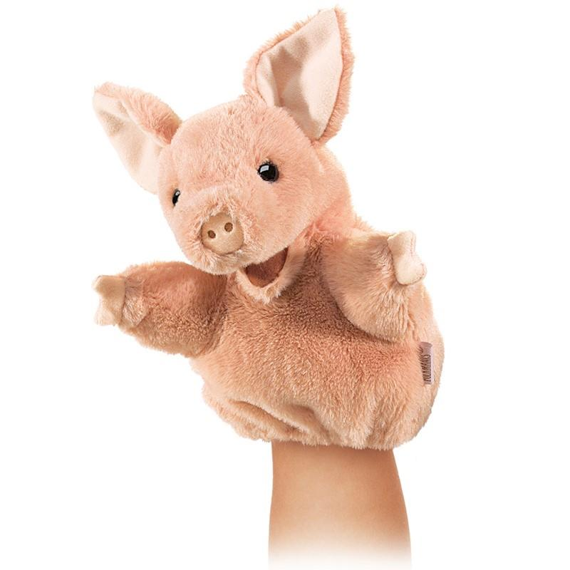 Folkmanis Hand Puppet Little Pig | Jump! The BABY Store