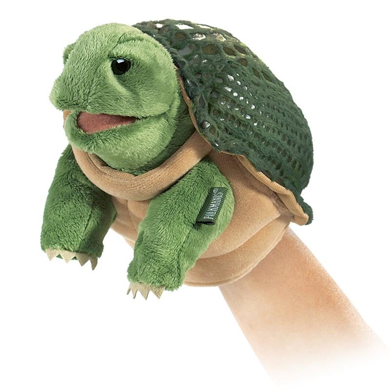 Folkmanis Little Turtle - Hand Puppet