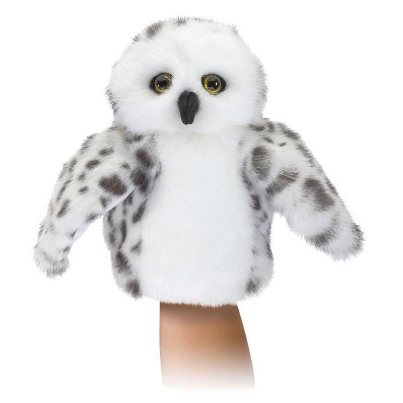 Folkmanis Hand Puppet - Snowy Owl | Jump! The BABY Store