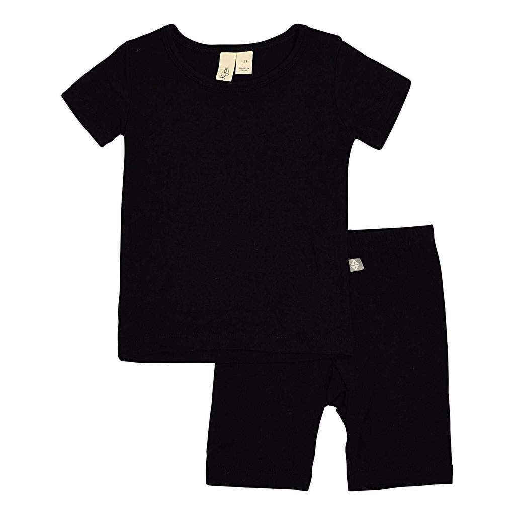 KYTE TODDLER SHORT SLEEVED PAJAMA SET - MIDNIGHT