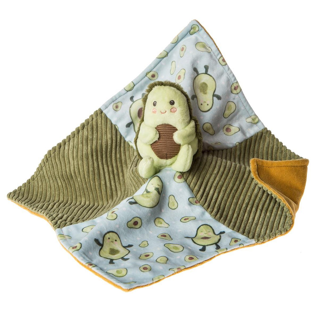 "Mary Meyer Character 13"" X 13"" Blankie - Yummy Avocado"