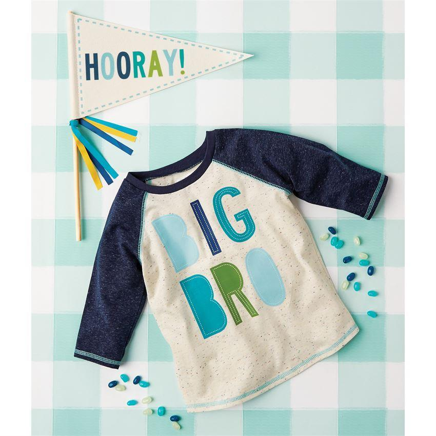 MUD PIE BIG BRO TEE AND PENNANT