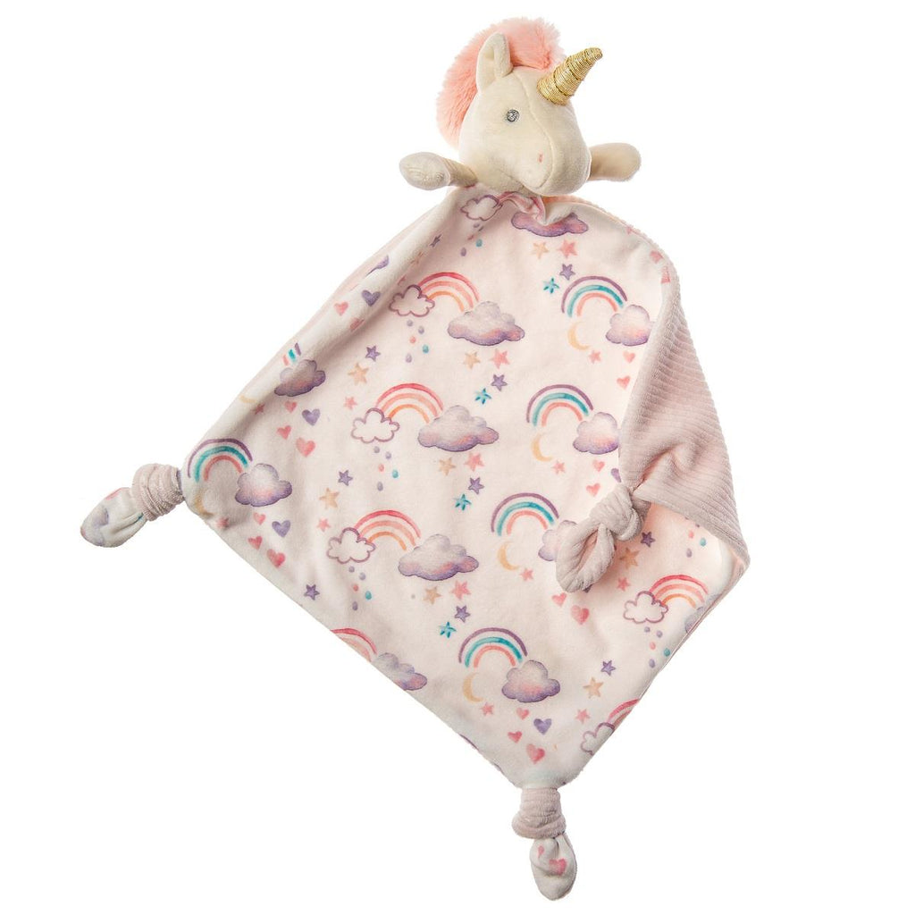 MARY MEYER LITTLE KNOTTIE BLANKET - UNICORN