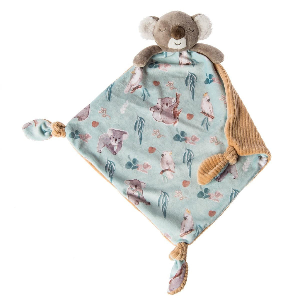 MARY MEYER LITTLE KNOTTIE BLANKET - KOALA