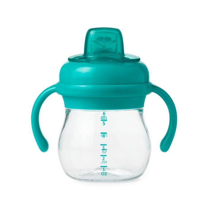 Oxo Transition Soft Spout Sippy W/ Handles - Teal