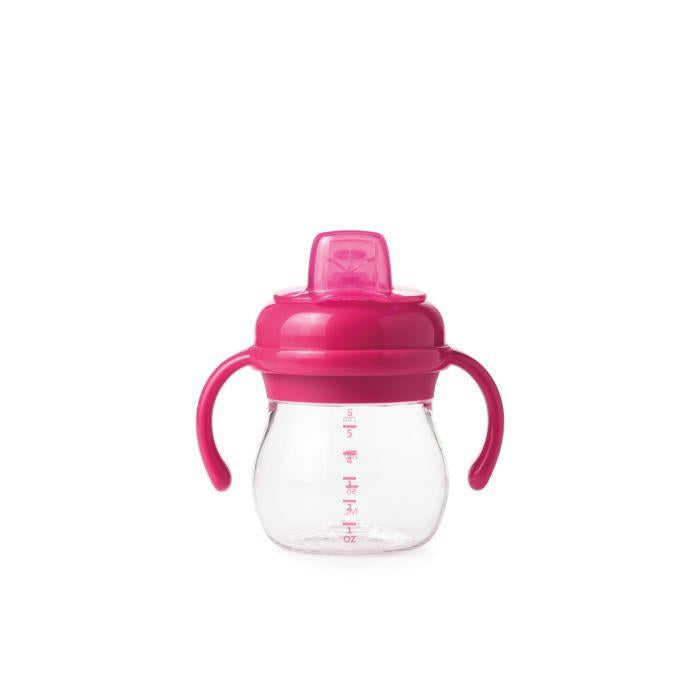Oxo Transition Soft Spout Sippy W/ Handles - Pink