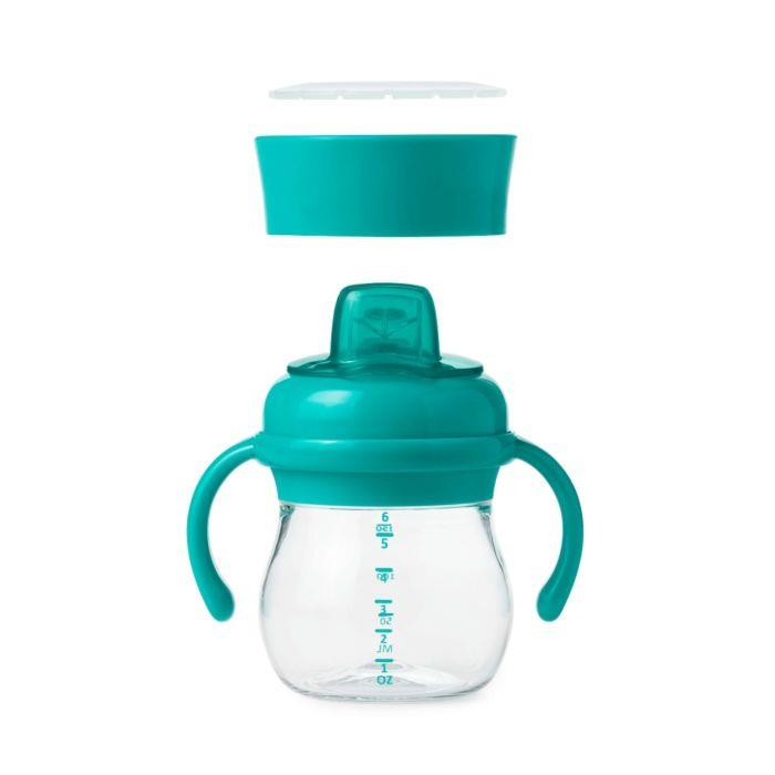 OXO TRANSITION SOFT SPOUT SIPPY SET - TEAL