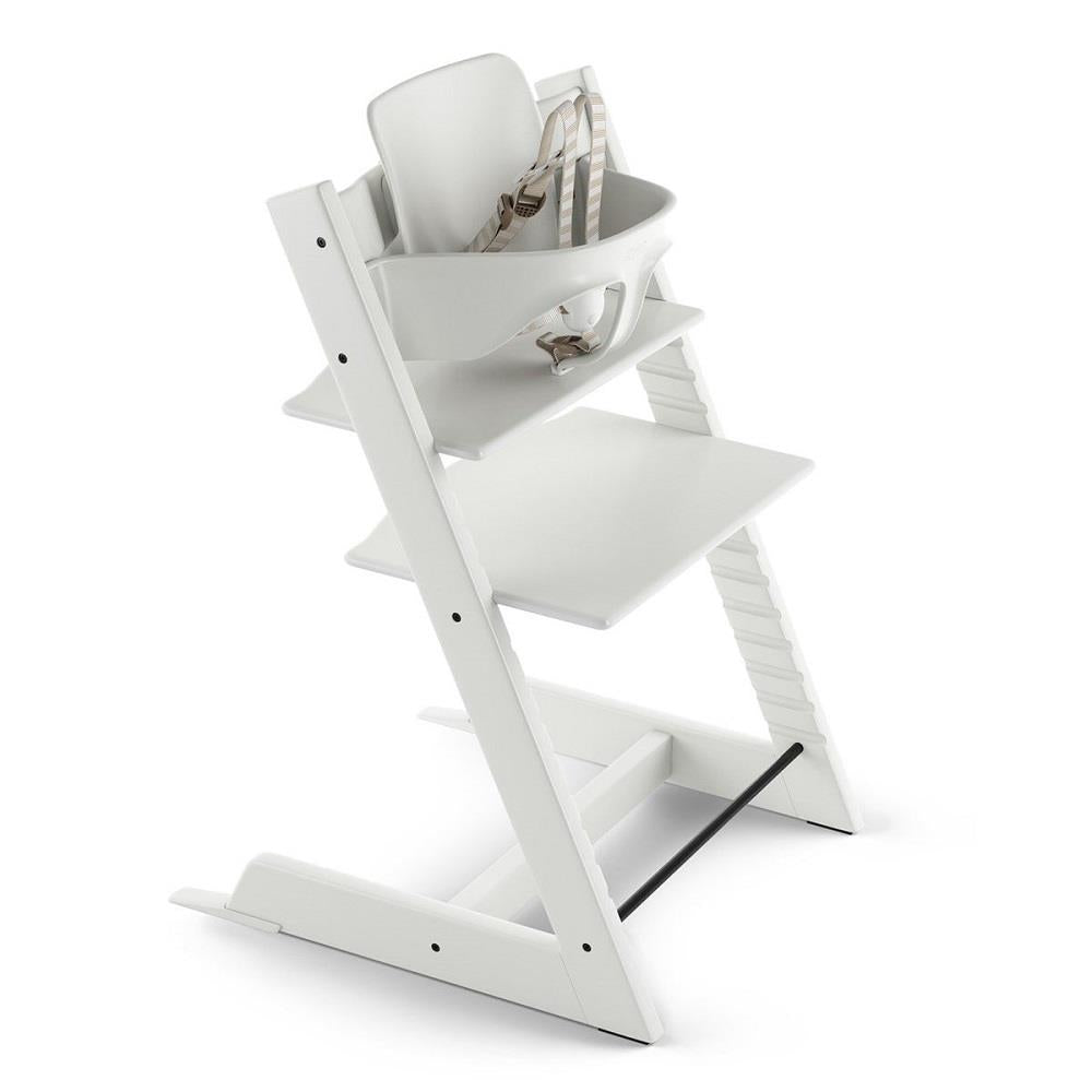 STOKKE TRIPP TRAPP HIGH CHAIR BUNDLE - WHITE