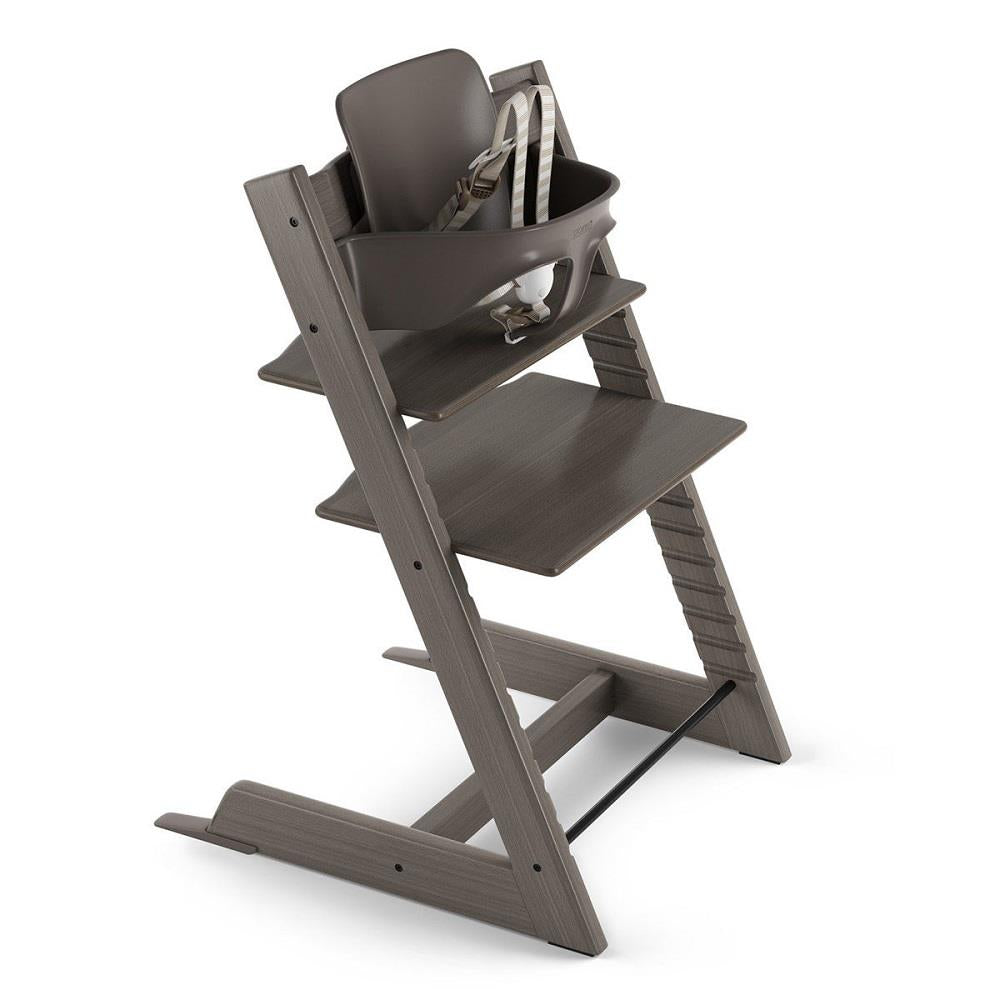 Stokke Tripp Trapp High Chair Bundle - Hazy Grey