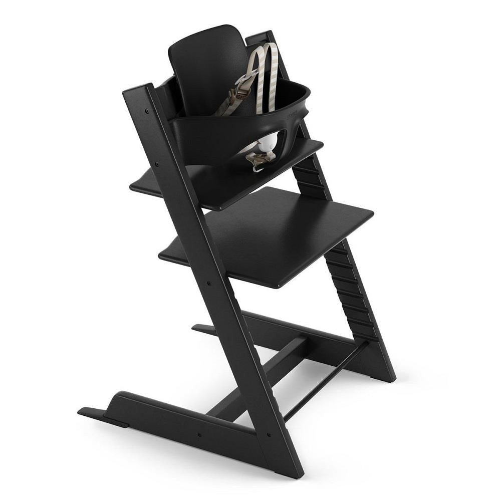 Stokke Tripp Trapp High Chair Bundle - Black