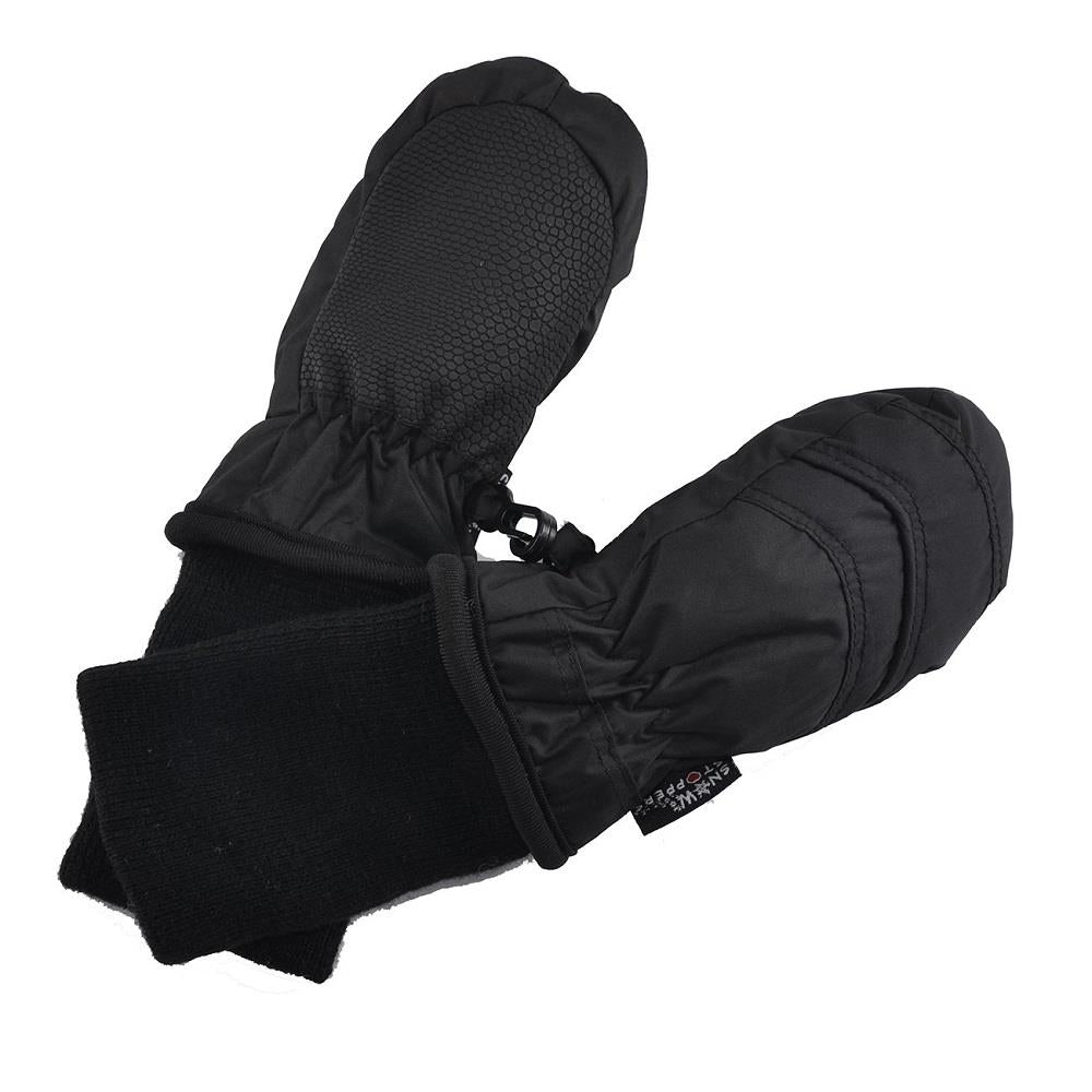 Snowstoppers Nylon Mittens - Black