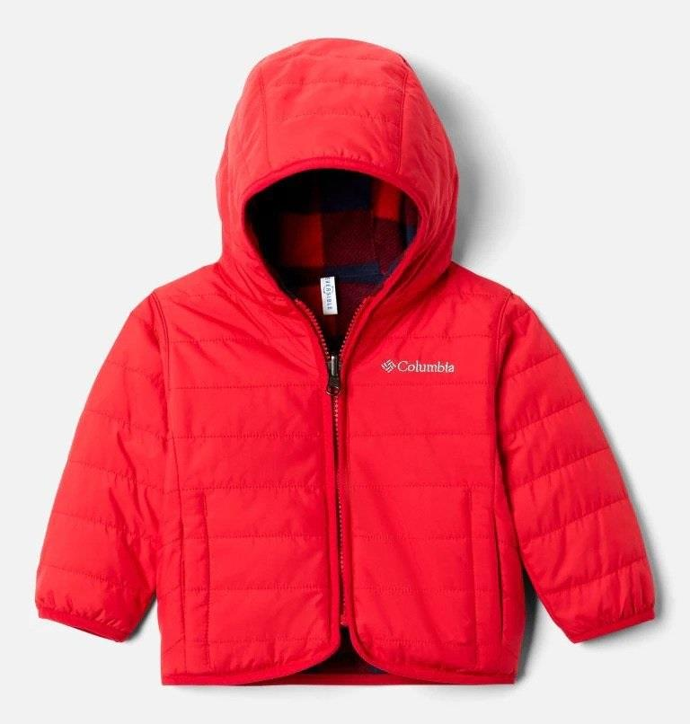 Columbia Double Trouble Baby Jacket - Mountain Red
