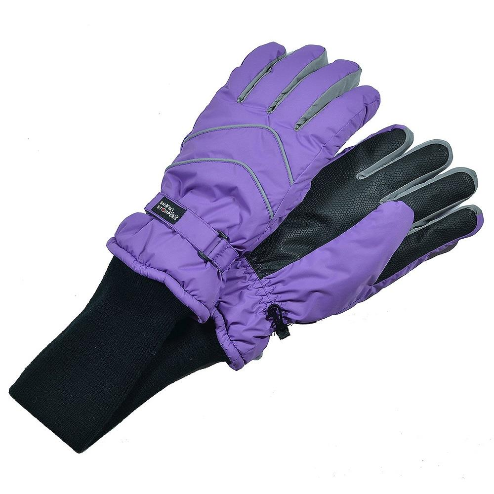 Snowstoppers Nylon Gloves - Purple