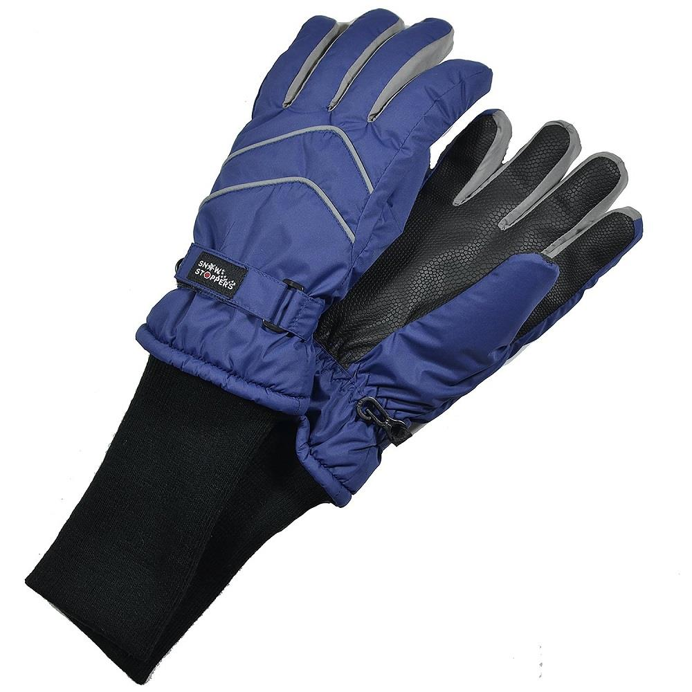 Snowstoppers Nylon Gloves - Navy