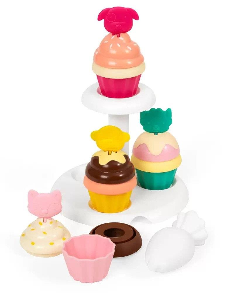 SKIP HOP ZOO SORT AND STACK CUPCAKES