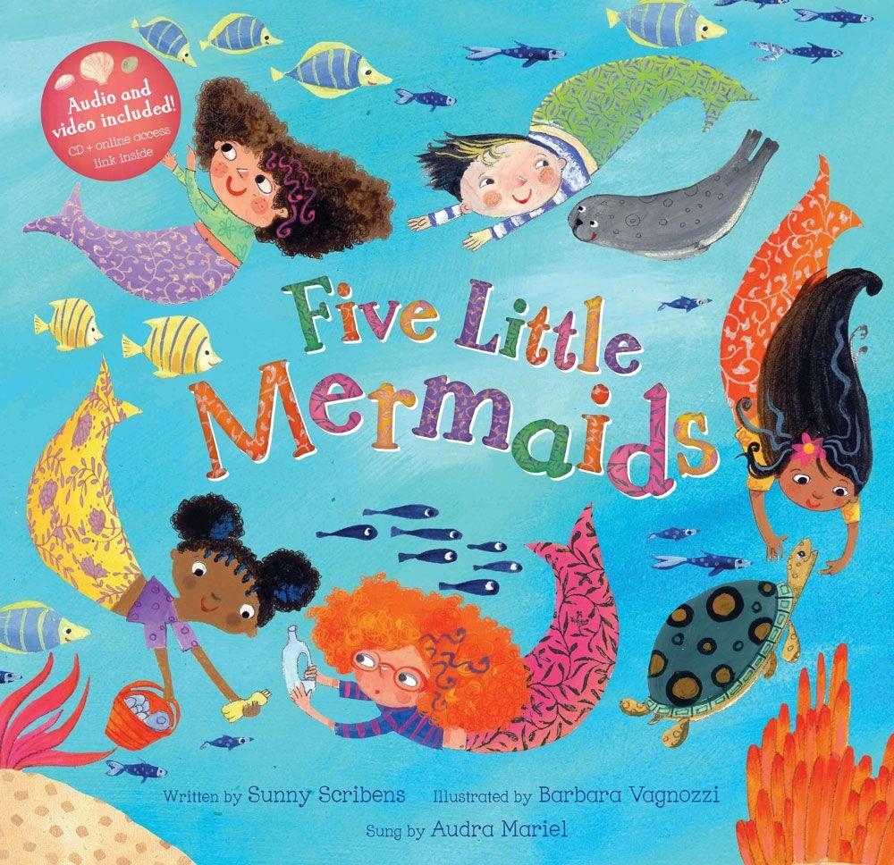 Barefoot Books Five Little Mermaids Book