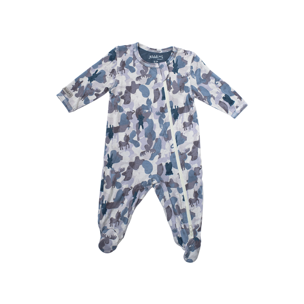 Juddlies Camoose Sleeper - Blue | Jump! The BABY Store