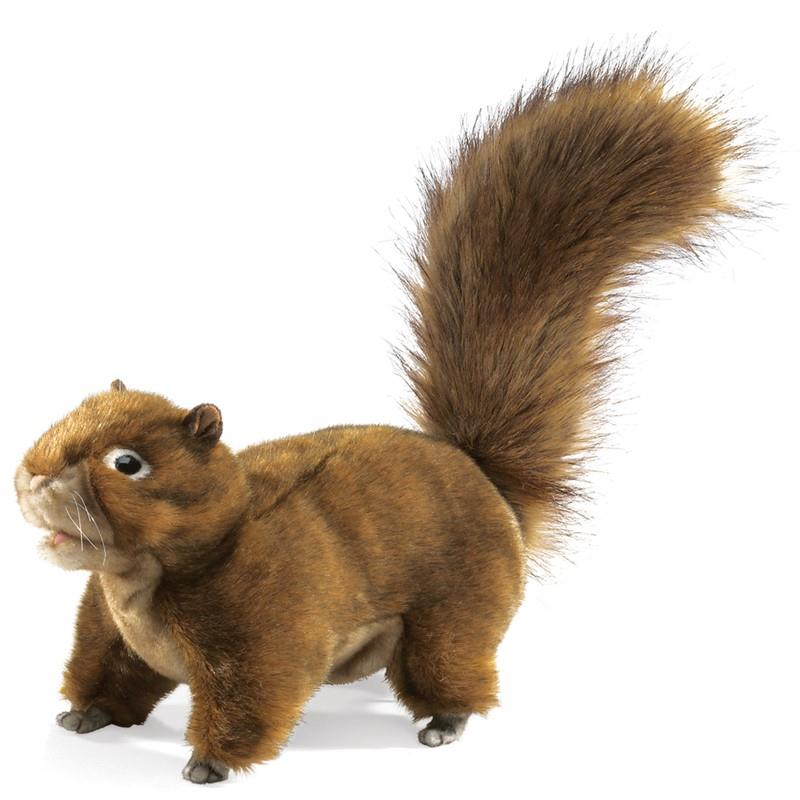 Folkmanis Red Squirrel - Hand Puppet