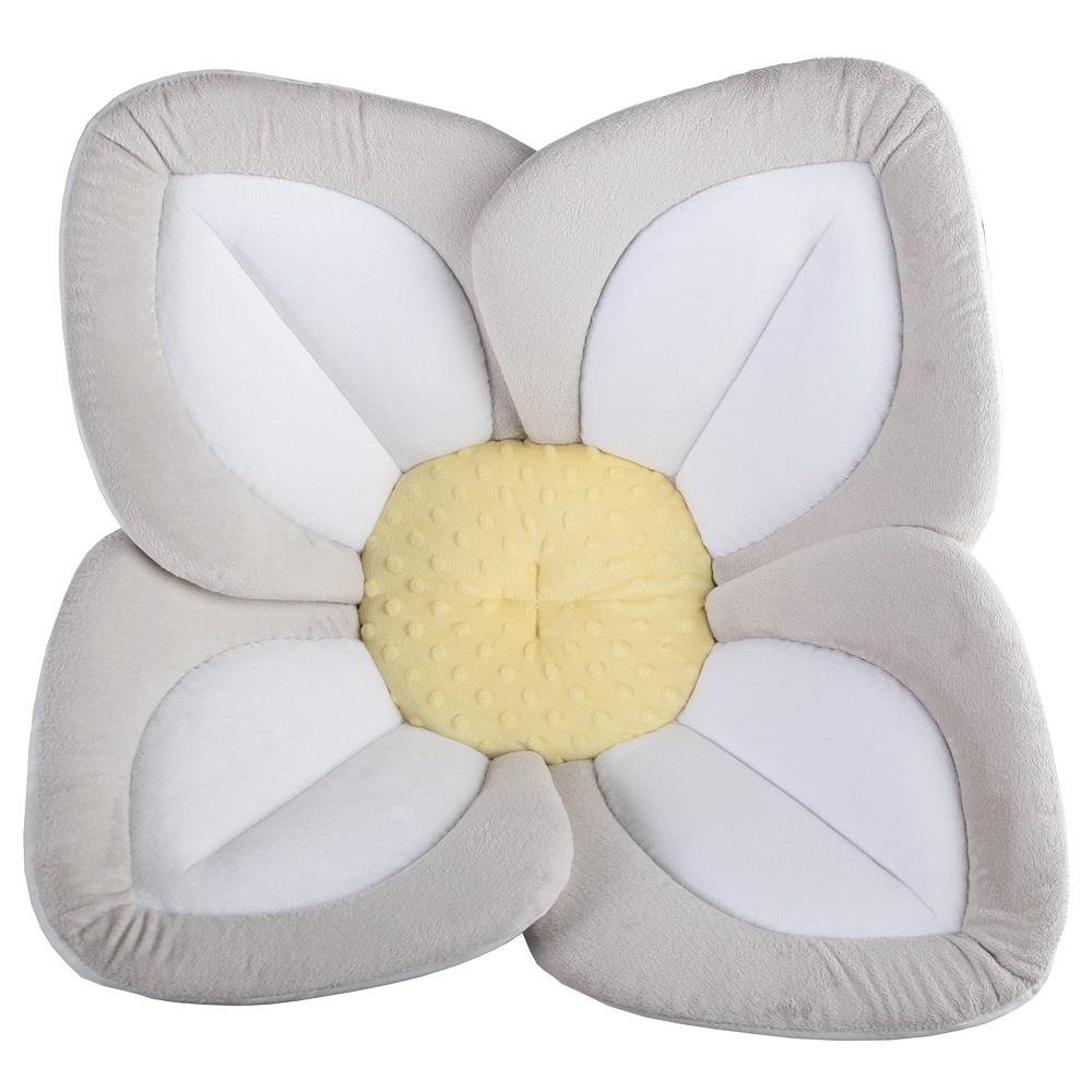 Blooming Bath Lotus - Grey/White/Yellow