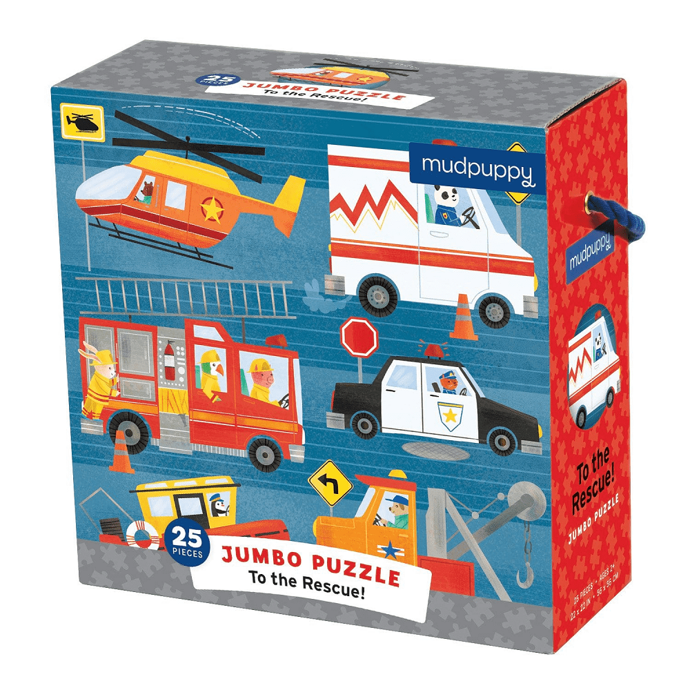 Mudpuppy To The Rescue Jumbo Puzzle | Jump! The BABY Store