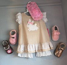 "Infant & Toddler 2 Piece ""White Bunny"" Outfit"