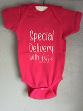 "New Born Onesies ""Special Delivery"""
