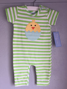 "Infant ""Yellow Chick"" Boys Romper"