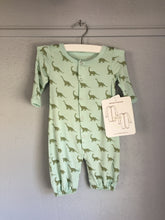Bamboo Newborn Converter Gown  & Children's 2 pc. PJ's (Dino Print) by Silkberry Baby