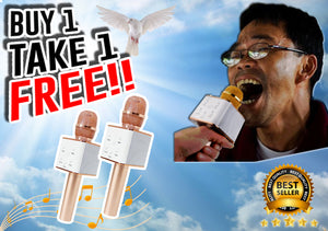 Portable Karaoke Buy1Take1 PROMO!