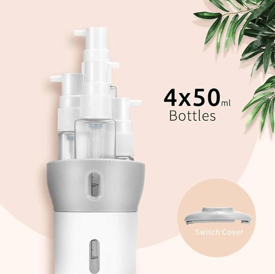 4 in 1 Travel Bottle (NEW ARRIVAL)