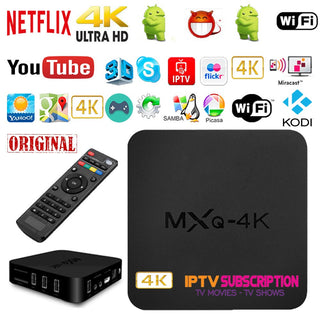 MXQ PRO 4K OTT TV BOX Android 6.0 (Black)
