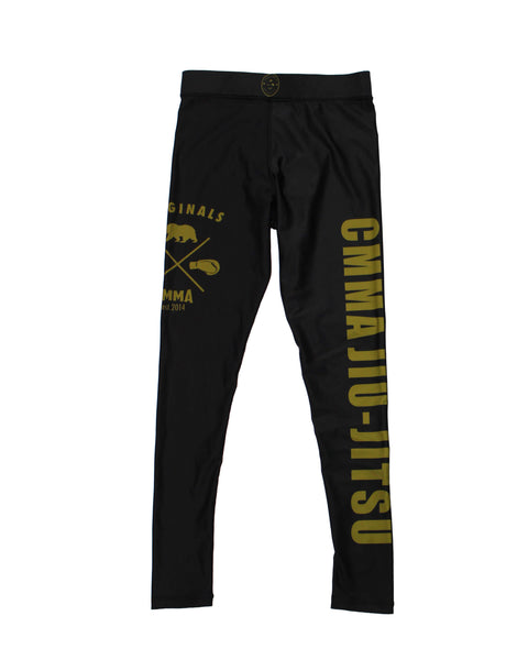 CMMA Compression Spats Black/Gold