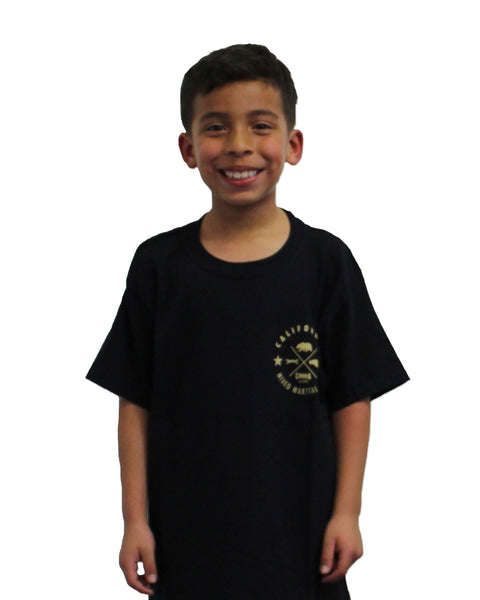 CMMA Kids T-Shirt Black/Gold