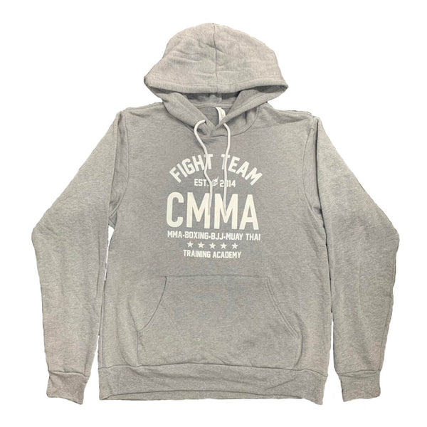 Fight Team Pullover Hoodie Lt Gray