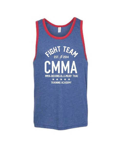 Fight Team Tank Top Blue