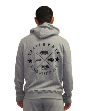 CMMA Originals Zip Hoodie Gray/Black