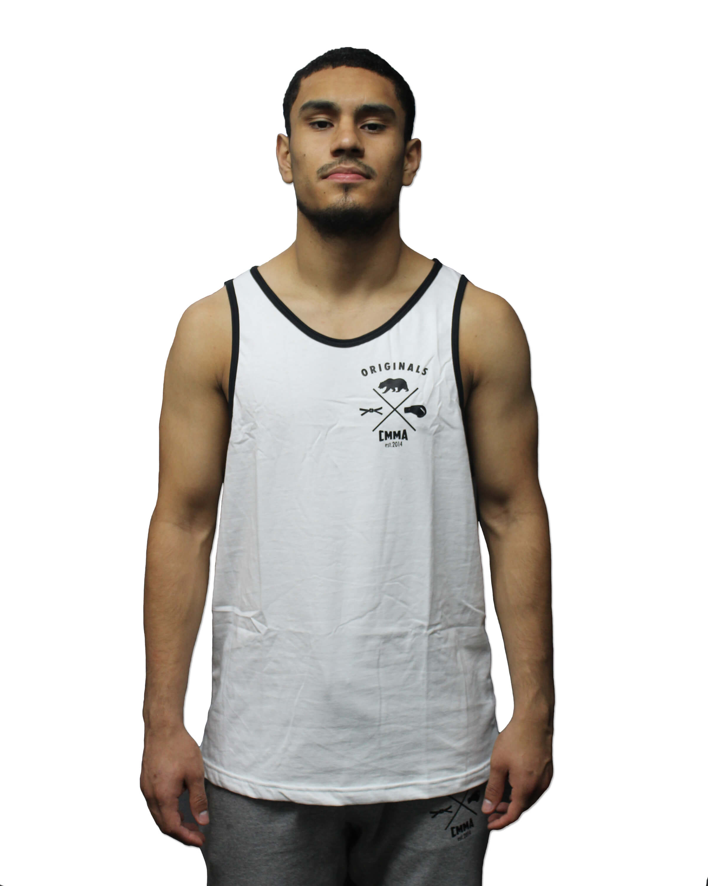 CMMA Originals Tank Top White