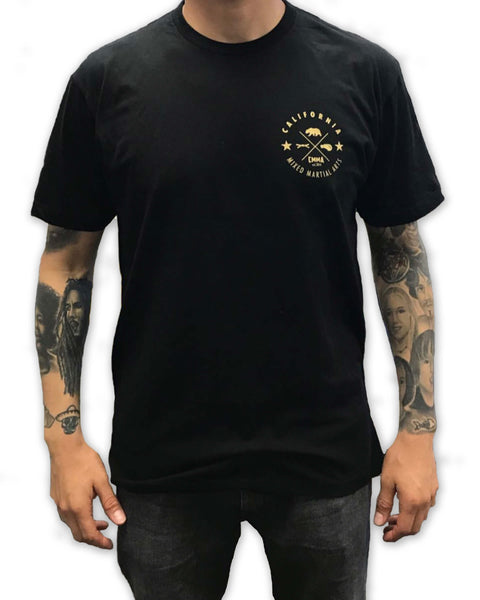 CMMA Shirt Black/Gold