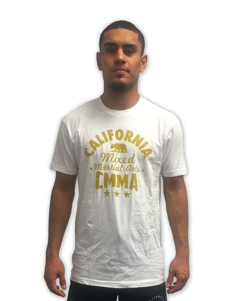 CMMA Shirt White/Gold