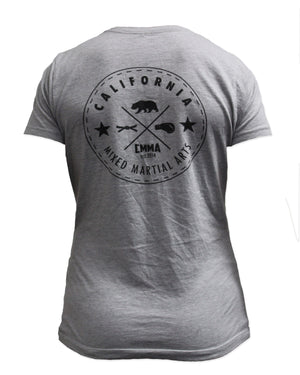 CMMA Women's Shirt Gray/Black