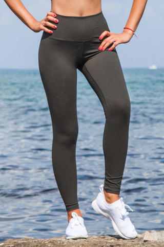 light & leaf Super Comfy Basic High Waist Leggings