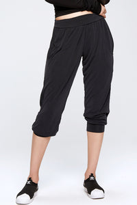 Oversize Comfort Fit Tom Boy Five Pants w. Pockets