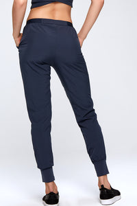 Basic Comfortable Casual Pants w. Pockets Back