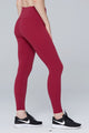 light & leaf fashion activewear super comfy yoga pants/leggings with hidden waist pocket turquoise wine